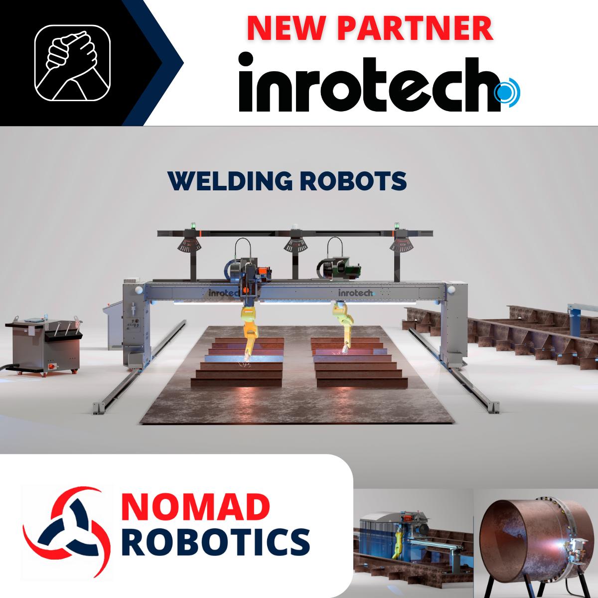 NOUVEAU PARTENAIRE INROTECH DE NOMAD ROBOTICS